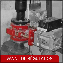 vanne de regulation Flowrox
